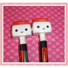 Kawaii Red Milk Pen
