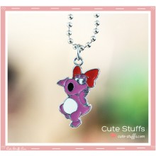 Super Mario Bros Necklace featuring Birdo!