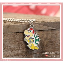 Super Mario Bros Necklace featuring Bowser!