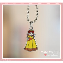 Super Mario Bros Necklace featuring Daisy!