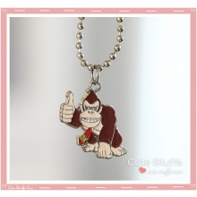 Super Mario Bros Necklace featuring Donkey Kong!