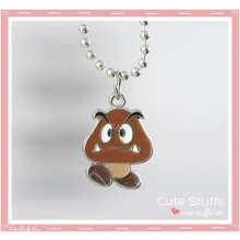 Super Mario Bros Necklace featuring Goomba!