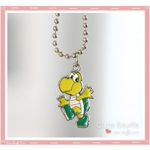 Super Mario Bros Necklace featuring Koopa Troopa!