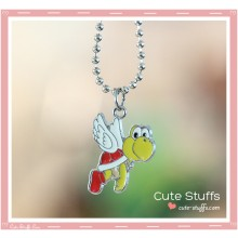 Super Mario Bros Necklace featuring Koopa Paratroopa!
