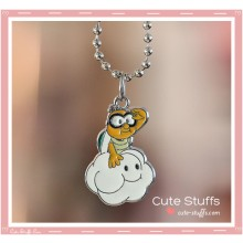 Super Mario Bros Necklace featuring Lakitu!