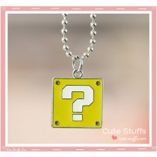 Super Mario Bros Necklace featuring Question Block!