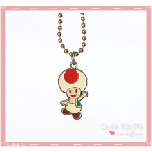 Super Mario Bros Necklace featuring Toad!