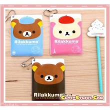 Kawaii Dual Sided Rilakkuma Korilakkuma ID Card Holder - U choose!