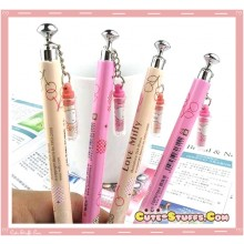 Kawaii Love Miffy Bunny Pen w/ Charm! U Choose Color!