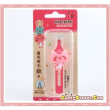 Kawaii Rare Good Friends Pink Cat Tweezers!!