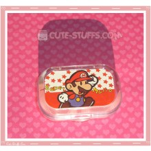 Kawaii Sparkle Travel Lens Case or Trinket Box! - Super Mario