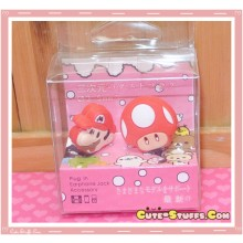 Kawaii 3.5mm Mario Dust Plug Set Duo