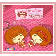 Kawaii Acrylic MocMoc Keychain - U Choose Color!