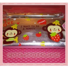 Kawaii Rare Large Silver Monkey Case