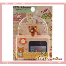 Kawaii Rare Rilakkuma Bobble Head Dust Plug!
