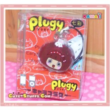 Kawaii Rare Flashing Transparent Head Dust Plug! MocMoc Bunny