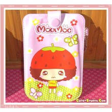 Kawaii MocMoc Strawberries Universal Phone Pouch