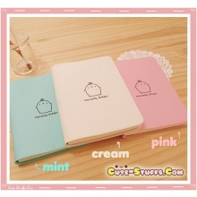 Rare Kawaii Licensed Official Molang Diary/Journal - White, Pink or Mint!