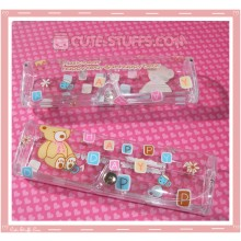 Kawaii Eyeglasses Case - Happy Day Bear