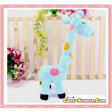 Large Tall Kawaii Nanaco Giraffe Plush Blue!