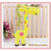 Large Tall Kawaii Nanaco Giraffe Plush Yellow!
