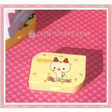 Kawaii Opaque Travel Lens Case or Trinket Box! - Chococat