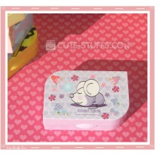 Kawaii Opaque Travel Lens Case or Trinket Box! - Mouse