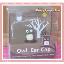 Kawaii 3.5mm Dust Plug Owl