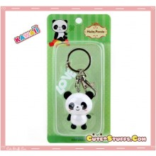 Kawaii Large Panda Key chain or Backpack & Purse Dangle Charm
