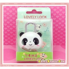 Kawaii Rare Discontinued Medium Lock & Keys - Panda!