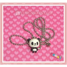 Kawaii Baby Resin Panda Necklace - Standing