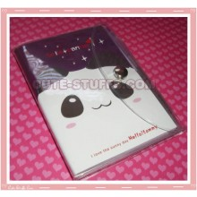 Kawaii Panda Mini Notebook w/ Cute Pen Enclosure