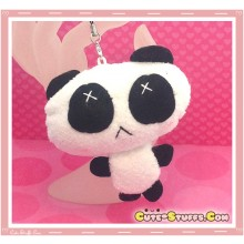 Kawaii Unique Plush Panda Phone Strap