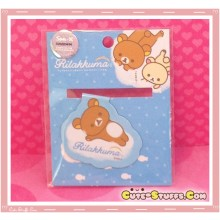 Kawaii Rare Overseas Edition Rilakkuma Magnet Bookmark Rilakkuma Clouds