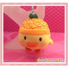 Kawaii Unique Plush Kiiroitori Chicken Charm Fruit! - Pineapple