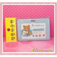 Kawaii Overseas Edition Rilakkuma Luggage Tag or ID Holder Rilakkuma Cloud