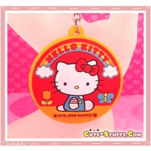 Kawaii Round 3D Sanrio Keychain - Rare! Hello Kitty