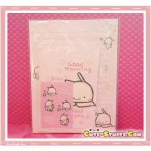 Kawaii Happy Go Lucky Letter Envelope Writing Set! Rare!