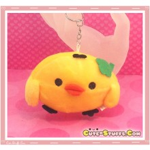 Kawaii Unique Large Plush Kiiroitori Chicken Charm and Keychain