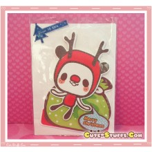 Kawaii Deer Christmas Card! 3D