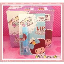Kawaii MocMoc Lip Balm + Oil! Blue