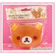Kawaii 4 Section Rilakkuma Head Pill or Trinket Box