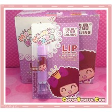Kawaii MocMoc Lip Balm + Oil! Purple