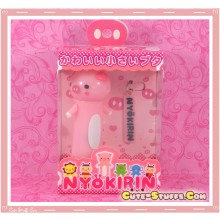 Kawaii Rare Nyokirin Led 2 Pc Phone Strap! Pig!