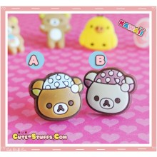 Kawaii 2D Dust Plug! Sleepy Korilakkuma Or Rilakkuma! U Choose!