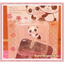 Kawaii 3.5mm Mini Panda Dust Plug