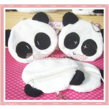 Kawaii Plush Panda Coin Purse!