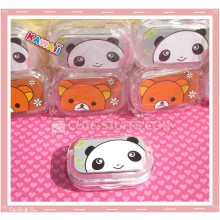 Kawaii Travel Lens Case or Trinket Box! - Panda
