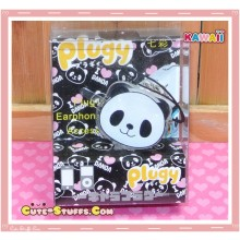 Kawaii Rare Flashing Transparent Head Dust Plug! Panda