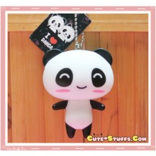 Kawaii Large Panda Keychain or Backpack & Purse Charm